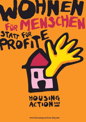 27.03:  Housing Action Day auch in Nürnberg